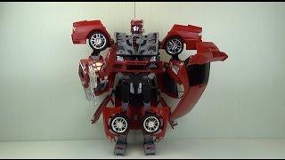 Игрушка  Робот Трансформер Transformers  Robot Cars toy(Трансформер Happy Well Mitsubishi Lancer Evolution IX 1:12 Игрушка предоставлена интернет-магазином