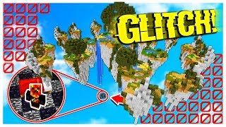 UNDER THE MAP BED WARS GLITCH! *works* (Minecraft BED WARS)