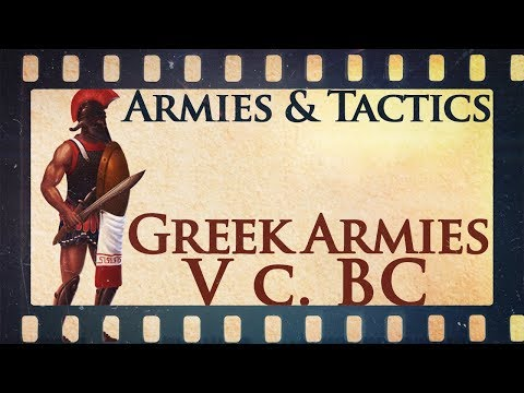 Armies And Tactics: Greek Armies During The Persian Invasions