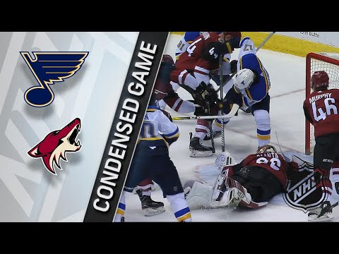 03/31/18 Condensed Game: Blues @ Coyotes
