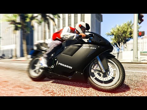 AWESOME MOTORBIKE STUNTS! - (GTA 5 Stunts & Fails)