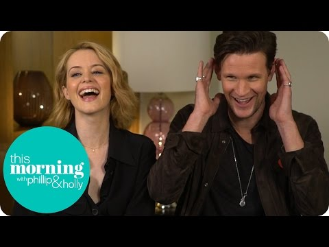 Alison Insults Matt Smith's Ears And Learns How To Speak Like The Queen | This Morning