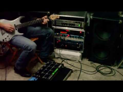 Steavens Radioactivator - Lukather sound - Music man Luke II EMG