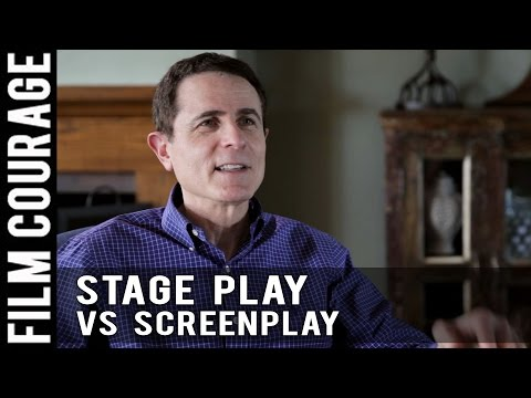 Writing A Stage Play Versus A Screenplay by Gary Goldstein