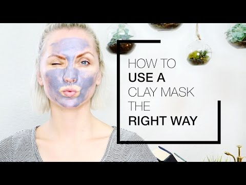 You Might Be Using Your Clay Mask Wrong