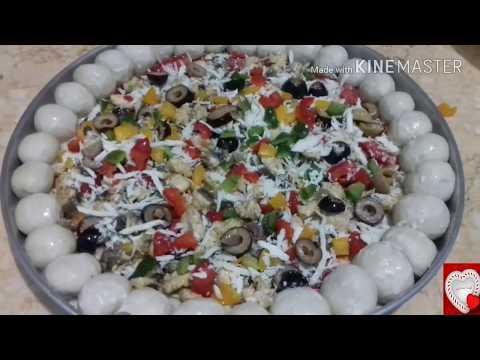 صورة  طريقة عمل البيتزا طريقة عمل البيتزا الفراخ  فى البيت 👇 طريقة عمل البيتزا بالفراخ من يوتيوب