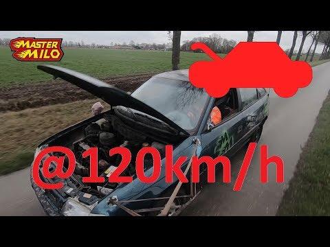 Opening bonnet @ 120km/h