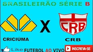 FUTEBOL AO VIVO HD CRICIÚMA x CRB