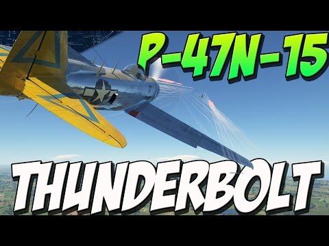 P-47N-15 THUNDERBOLT - Boom N ZOOM (War Thunder Plane Gameplay)
