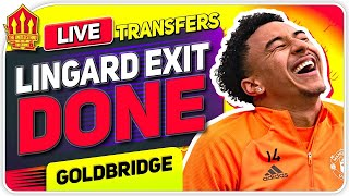 Lingard Leaves United! Sancho Price Drop! Man Utd Transfer News
