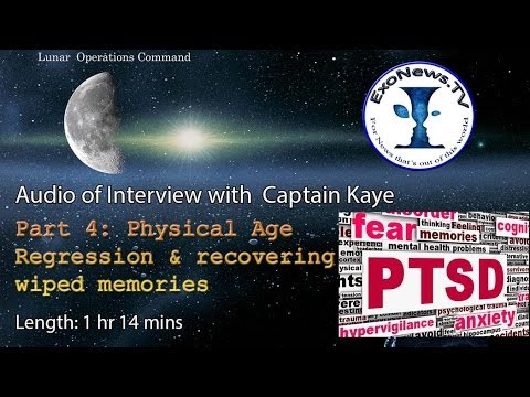 Full Audio - Capt K Interviews Part 4 - Physical age regression & regaining wiped memories
