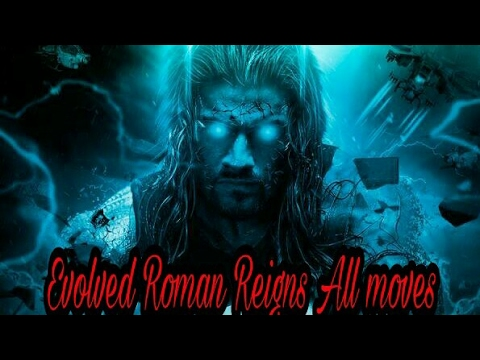 Wwe immortals Evolved Roman Reigns all moves