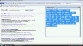2e) Port forwarding voorbeeld Linksys Modem