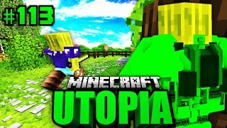 ZEITREISE nach 2016?! - Minecraft Utopia #113 [Deutsch/HD]