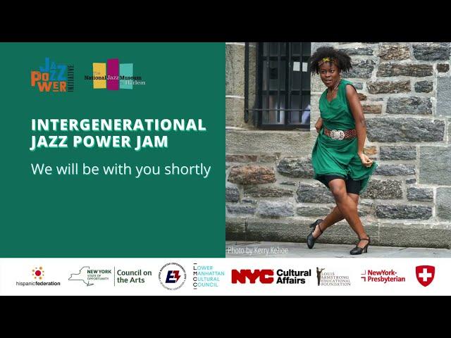 Intergenerational Jazz Power Jam presents: Swinging Into Spring Dance Jam