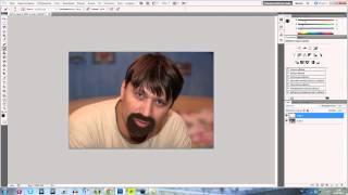 Adobe Photoshop CS5: Создание щетины на лице