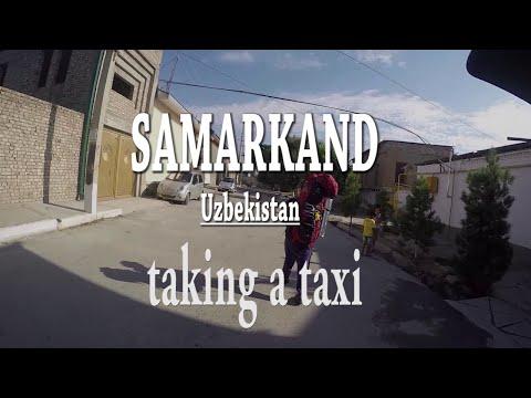 Get a taxi in Uzbekistan