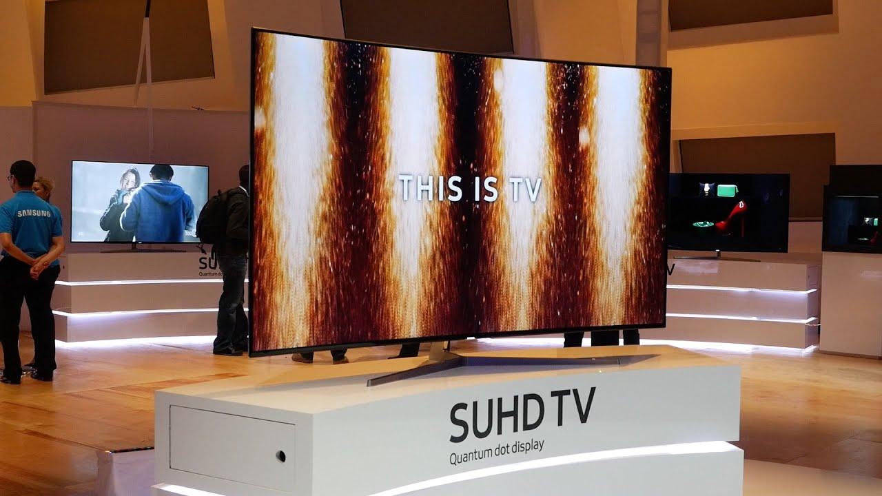 Samsung Ks9500 Suhd 4k Tv Breaks Cover At Ces 2016 Youtube