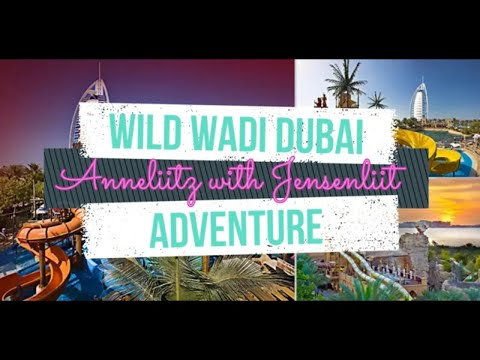WILD WADI WATERPARK DUBAI ADVENTURE #Anneliitz #wildwadi #dubai
