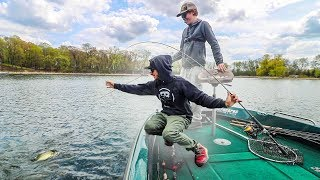 Subscriber Called Me Out To Fish 1v1 On Opening Day || 50 State Fishing Tour (Minnetonka MN)
