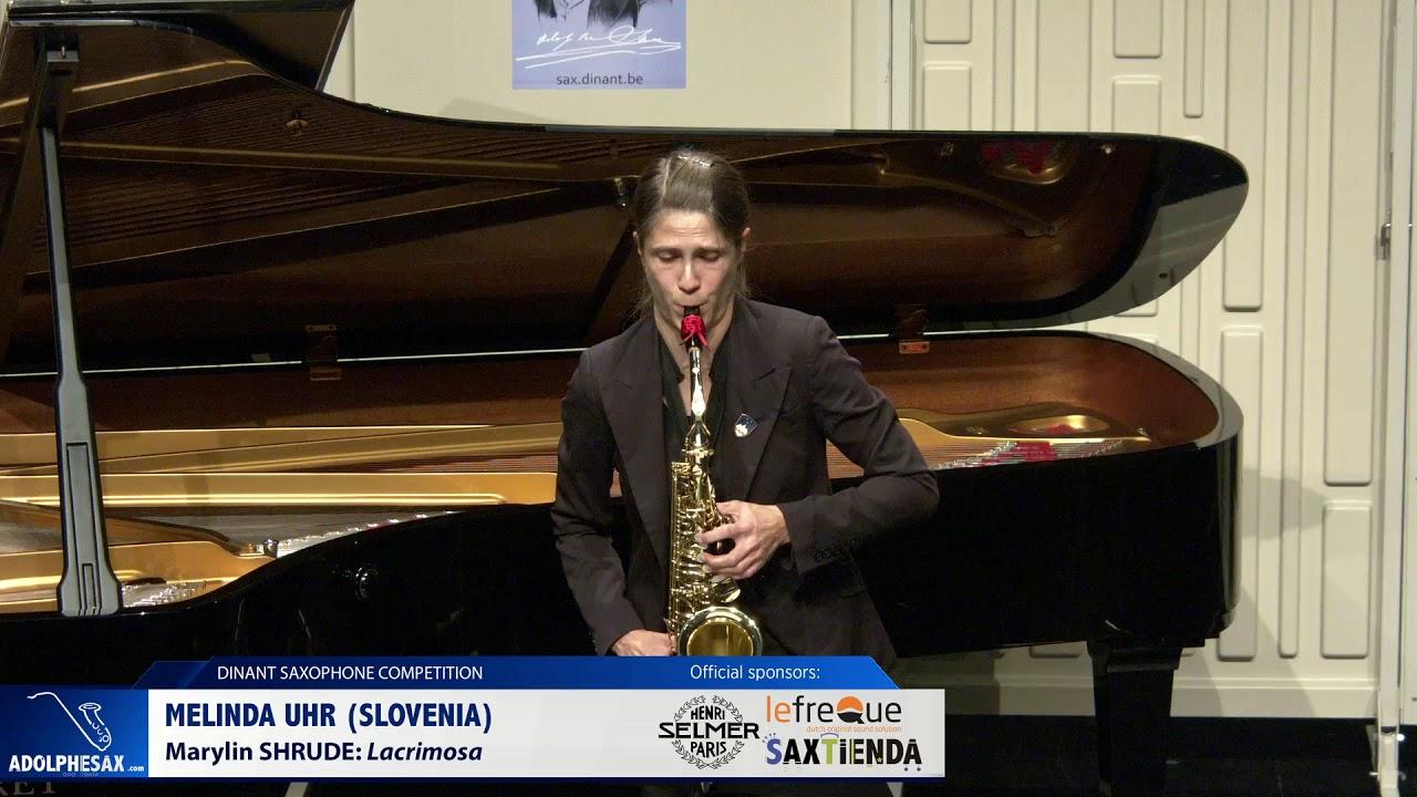 Melinda Urh (Slovenia) - Lacrimosa by Marylin Shrude (Dinant 2019)