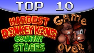 Top 10 Hardest DKC (SNES) Stages - AntDude