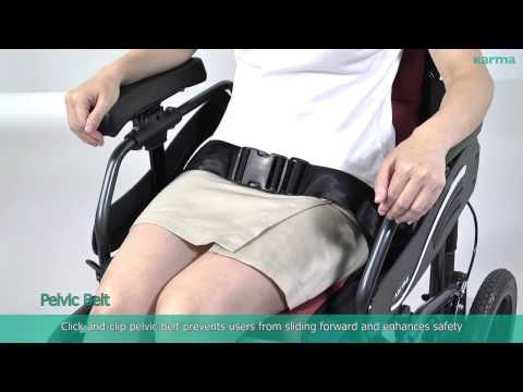 VIP 515 Manual Tilt-in-Space Wheelchairs
