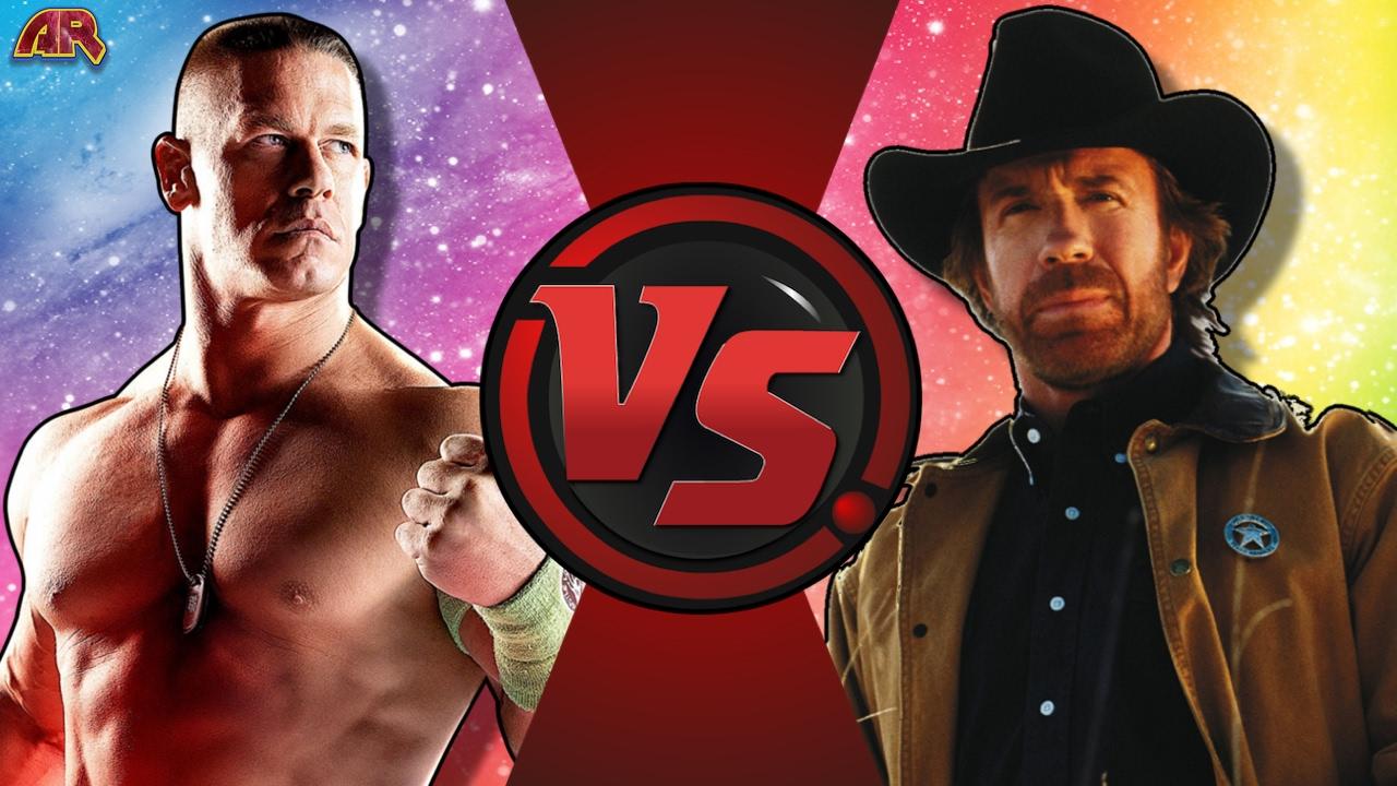 JOHN CENA vs CHUCK NORRIS! (MLG WWE vs Classic Meme) Cartoon Fight Club Episode 155