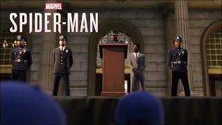 Marvel's Spider-Man PS4 - Jefferson Davis' Death Scene (Miles' Origin)