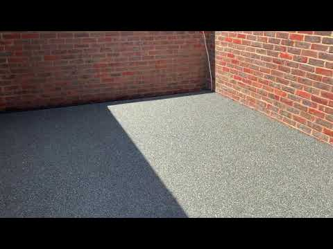 Resin patio laid by Varney Surfaces