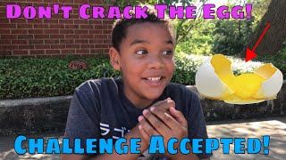 Don't Crack The Egg Challenge! | Fun Children's Youtube Channel | Fun Family Videos