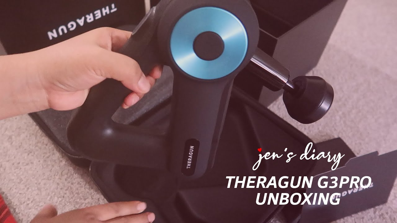 Theragun G3PRO Unboxing