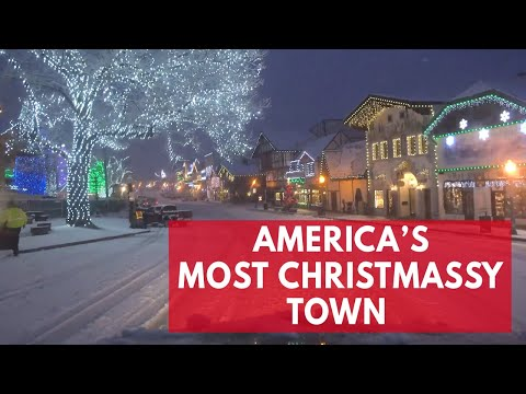 Is This The Most Magical Christmas Town In America?