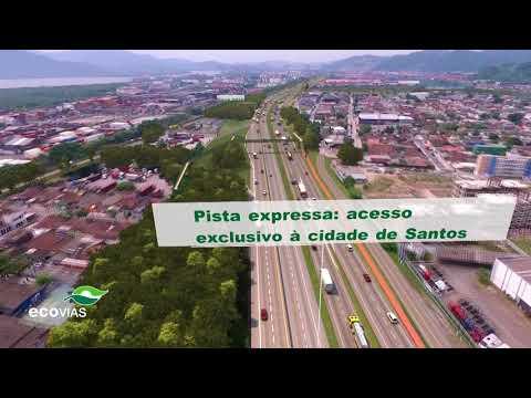 Nova Entrada De Santos - Vídeo Maquete
