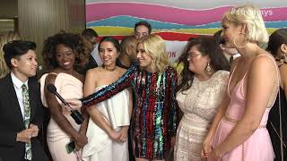 Ladylike Cast Red Carpet Interview - Streamy Awards 2018