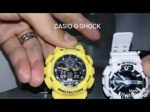 a44c0dd05b9 Ajustando hora digital e analógica Casio g-shock - YouTube