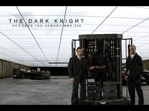 Hot Toys The Dark Knight Armory MMS 236 Review