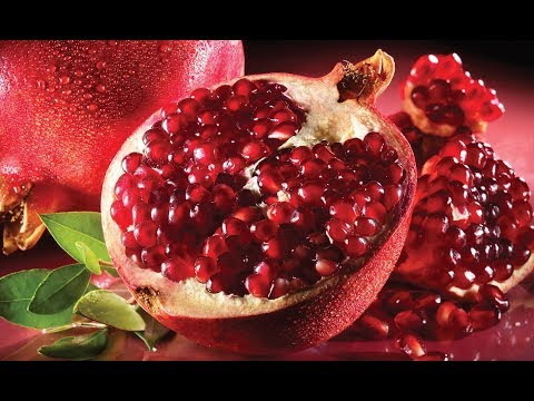 HOW TO CUT POMEGRANATE QUICKLY ?