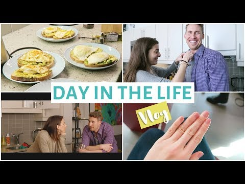 DAY IN THE LIFE Playing Actors & Best Avocado Toast Recipe | NIK + MATT 54