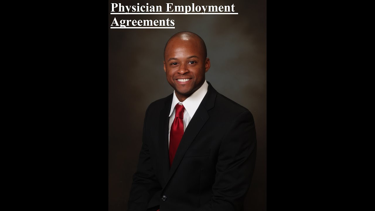 physician employment agreement – Physician Employment Agreement
