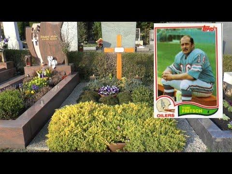 Wembley Toni Fritsch-Super Bowl- Champion Amercan- Football-Ikone seine  letzte Ruhestätte