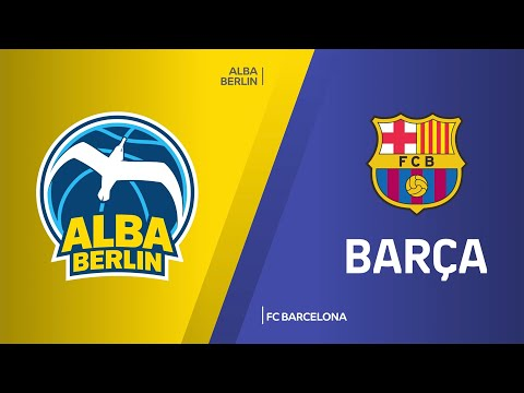 ALBA Berlin - FC Barcelona Highlights   Turkish Airlines EuroLeague, RS Round 7
