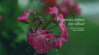 capa de Palavras Soltas no Olhar de Laura DaSilva