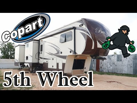 I Bought A Luxury 5th Wheel RV From Copart I Hate Thieves