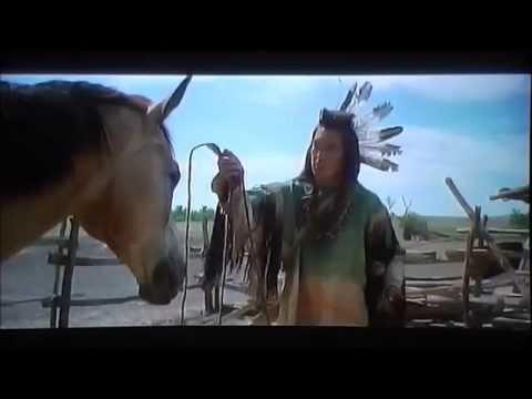 dances with wolves scene: john dunbar vs kicking bird