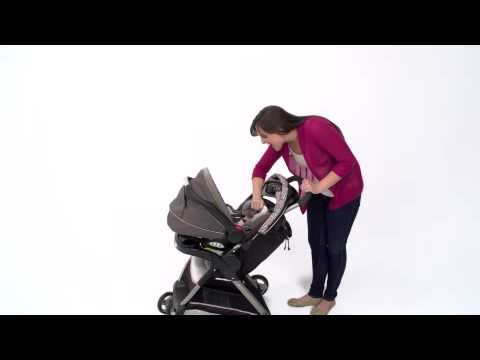Find Out How To Use The Graco Click Connect Infant Car Seat Youtube