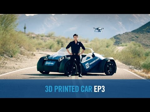 Grant Imahara & Local Motors - The Essence of Autonomy 3D Printed Car