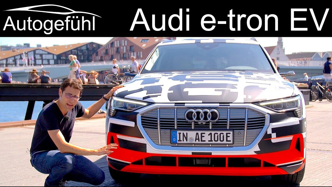 The first all-electric Audi - REVIEW Audi e-tron Interior & driving impression - Autogefühl