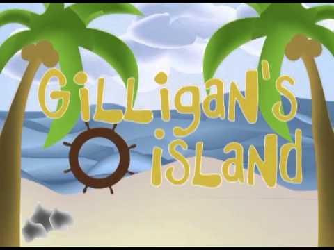 La isla de Gilligan intro animación escolar