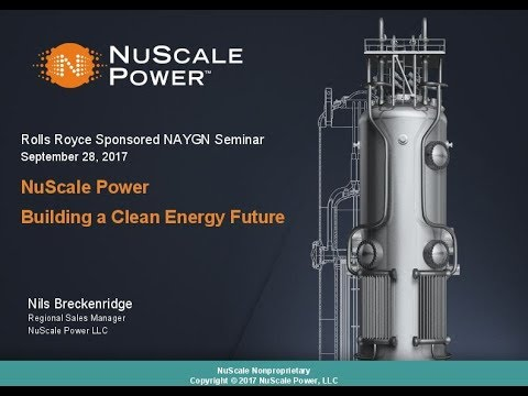 NuScale Nuclear Power - Nils Breckenridge - RMU and NAYGN